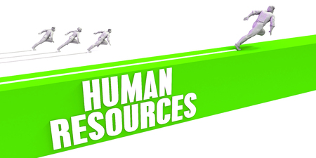 Human Resources as a Fast Track To Success Stock Photo