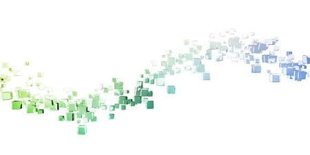 Blockchain Technology Data Concept as a Background Archivio Fotografico