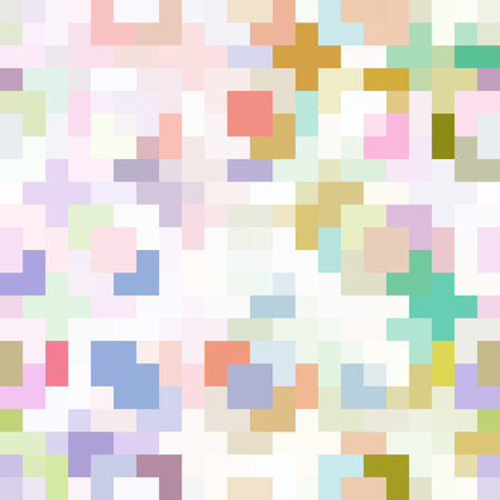 Pixel Art as a Mosaic Abstract Background
