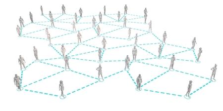 Social Circle Network as a Media Concept