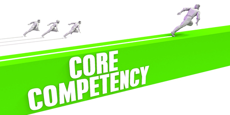 Core Competency as a Fast Track To Success Stock Photo
