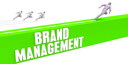 Brand Management as a Fast Track To Success Stock Photo