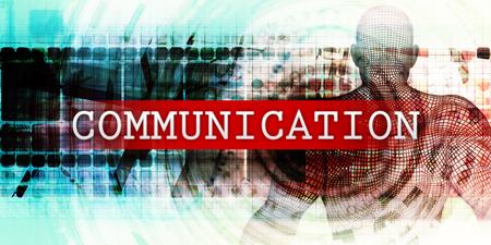 Communicatiesector met Industrial Tech Concept Art