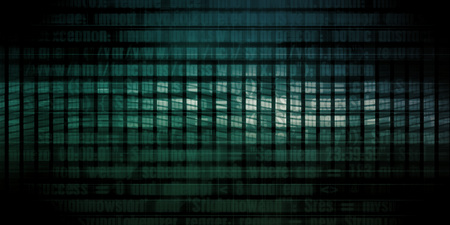 Technology Abstract Background as a Digital Concept Art