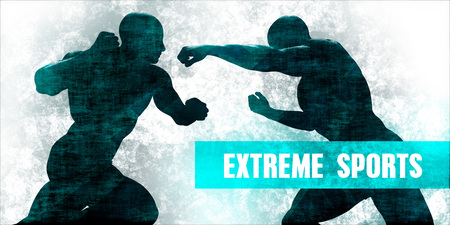 Extreme Sports Self Defence Training Concept