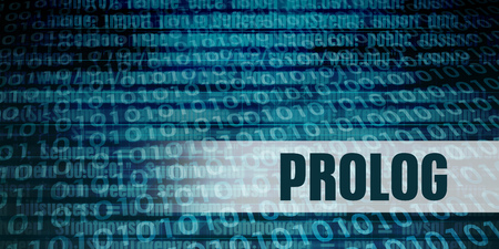 Prolog Development Language as a Coding Concept Lizenzfreie Bilder