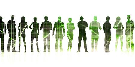 Innovation Technology as a Working Solution Idea Lizenzfreie Bilder