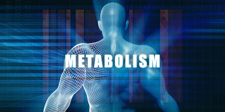 Metabolism as a Futuristic Concept Abstract Background