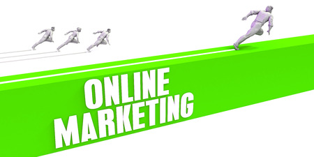 Online Marketing as a Fast Track To Success Stock Photo