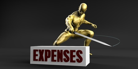 Reduce Expenses and Minimize Business Concept