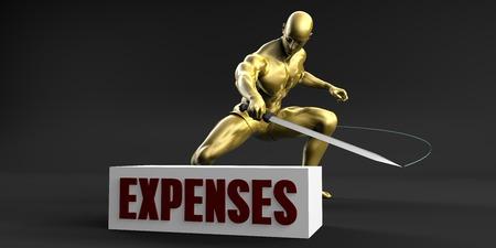 Verlaag kosten en minimaliseer bedrijfsconcept
