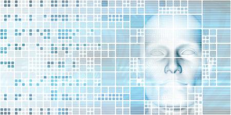 Engineering Technology on a Virtual Platform System Stock Photo