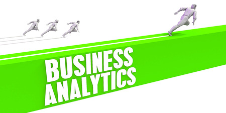 Business Analytics as a Fast Track To Success Stock Photo