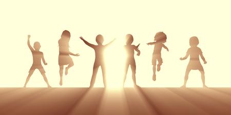 Nurturing Children Through Love and Education as Concept