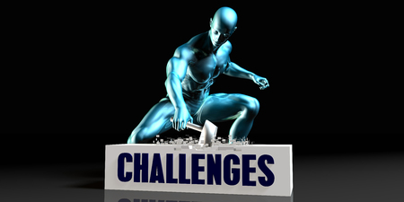 rid: Get Rid of Challenges and Remove the Problem Stock Photo