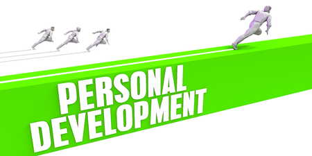 Personal Development as a Fast Track To Success Stock Photo