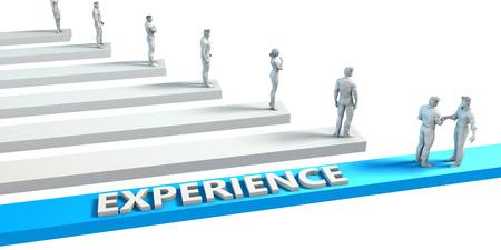 좋은 직원을위한 기술로서의 경험
