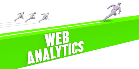 Web Analytics as a Fast Track To Success Stock Photo