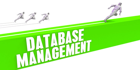 Database Management as a Fast Track To Success Stock Photo