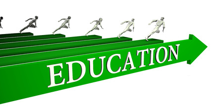 Education Opportunities as a Business Concept Art