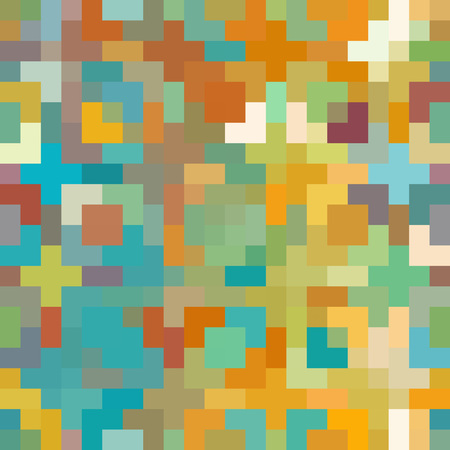 Seamless Pixel Background with Colorful and Creative Concept