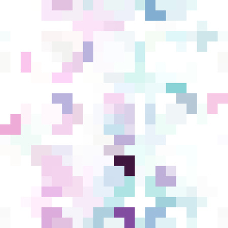 Seamless Pixel Pattern Background as an Artistic Concept