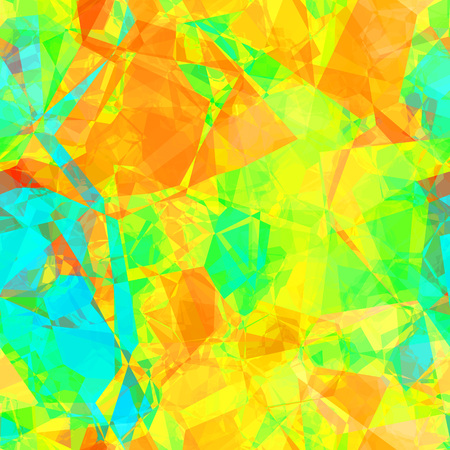 Colorful Crystal Seamless Background Concept Abstract