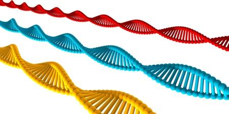 DNA Medical Background with Atomic Cells Concept Lizenzfreie Bilder