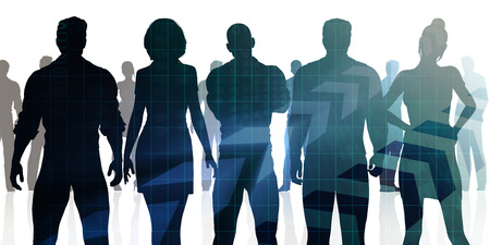 Manpower and Human Resources Department Staffing Concept Stock Photo - 86633288