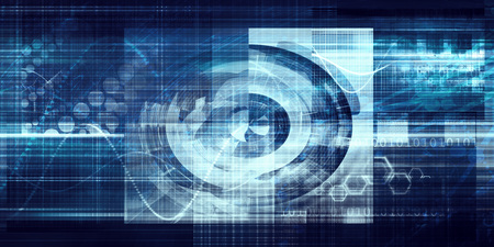 Dynamic Technology Solutions with Constant Progress Abstract Stock Photo