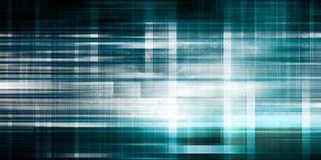 Solución de negocios y servicios de tecnología como arte