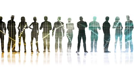 Manpower and Human Resources Department Staffing Concept Stock Photo - 88062362
