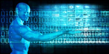 인터넷 개념 기술에 대한 글로벌 기술 솔루션
