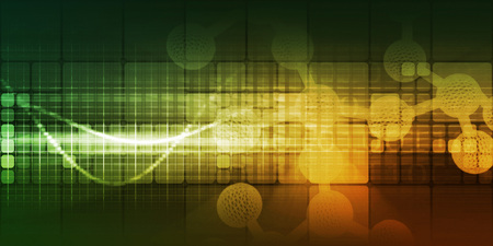 Medical Technology as a Creative Abstract Background for Science