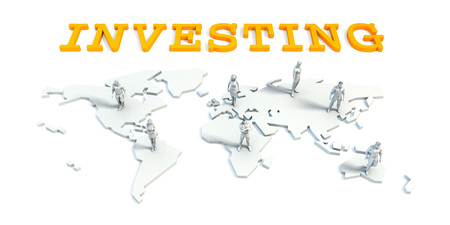 Investing Concept with a Global Business Team