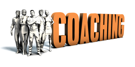 Business People Team Focusing on Improving Coaching as a Concept