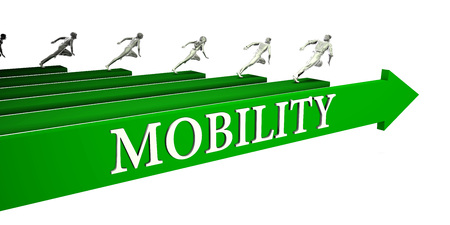 Mobility Opportunities as a Business Concept Art Stock Photo