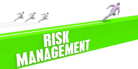 Risk Management as a Fast Track To Success Stock Photo