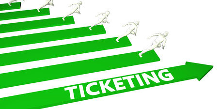 Ticketing Consulting Business Services as Concept
