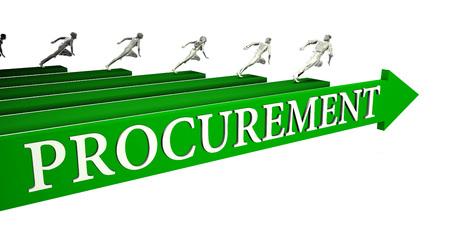 Procurement Opportunities as a Business Concept Art
