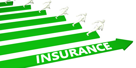 Insurance Consulting Business Services as Concept Standard-Bild
