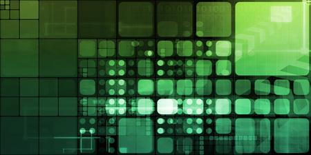 Digital Science with Virtual Technology in Art Standard-Bild