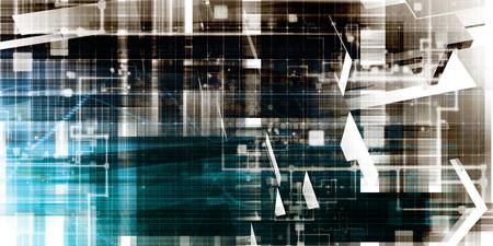 Online Research Concept on Data Around the World Standard-Bild