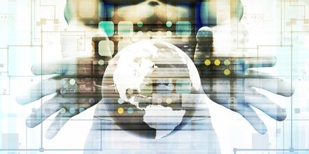 Digital Marketing and Social Network as Interface Standard-Bild