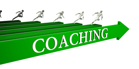 Coaching Opportunities as a Business Concept Art Stock Photo