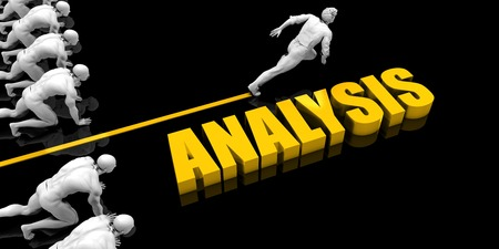 Analysis Leader with a Man Having a Head Start