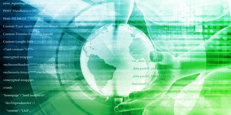 Global Business Technology Company as a Startup Concept Standard-Bild
