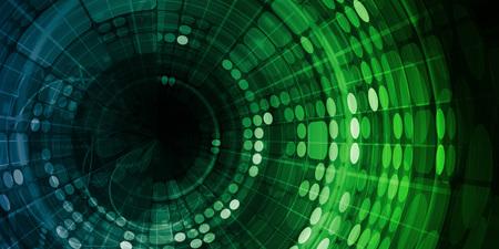 Digital Data Abstract as a Technology Concept Standard-Bild
