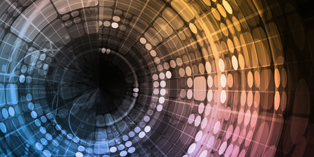 Modern Digital Background as a Creative Art