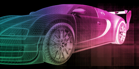 Fahrzeugwartungsservice oder Abstimmung des Autos
